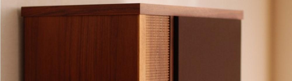 木工小物のスピーカー