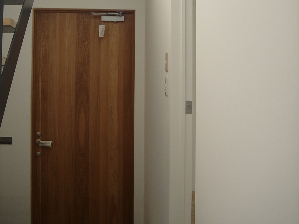 オークの玄関ドア