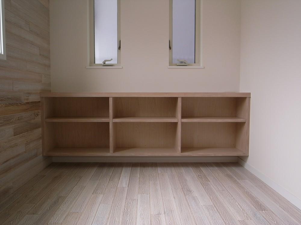 メープルとチェリーを使った歯医者さんの家具