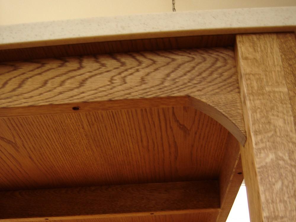 お菓子教室で使う人工大理石の天板のワークテーブル