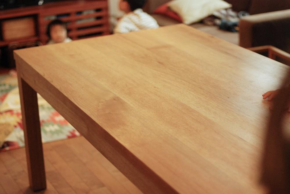クルミのダイニングテーブル
