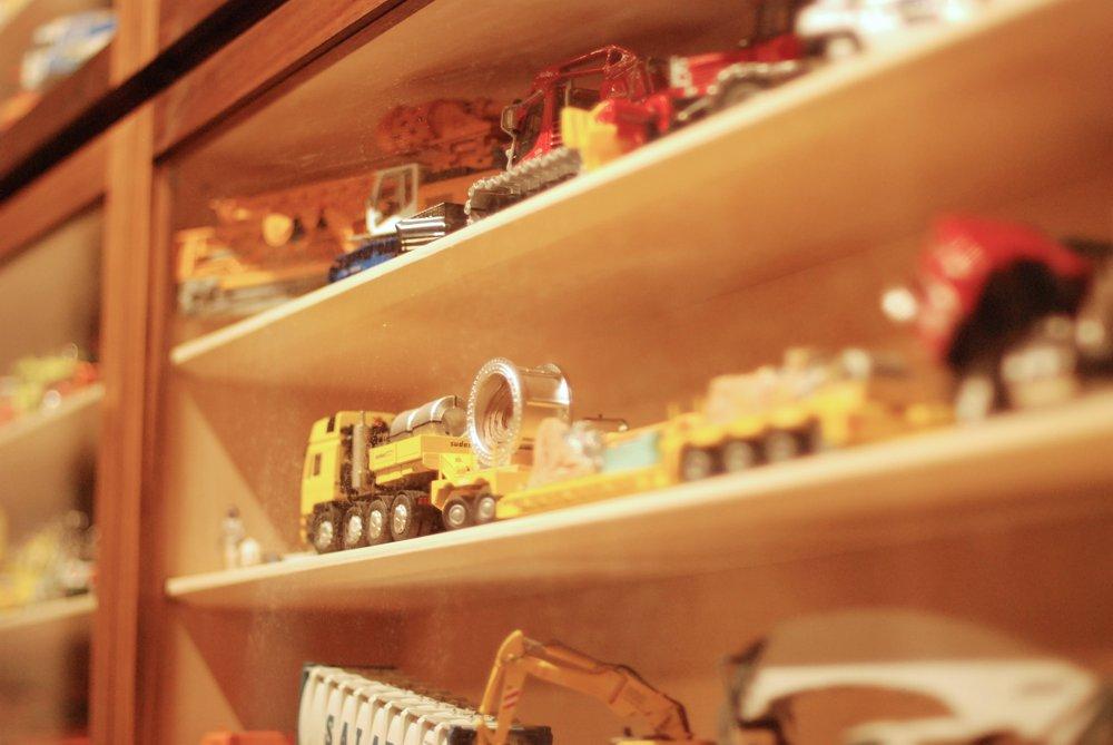 ダイキャストミニカーのコレクションケース