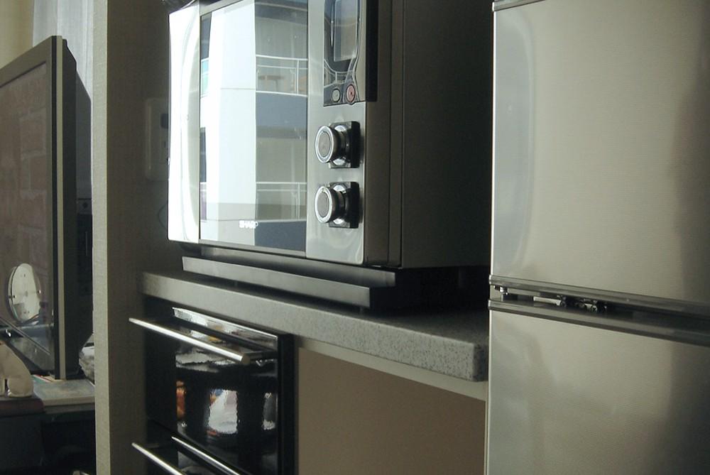 既存キャビネットと組み合わせて作るキッチン収納