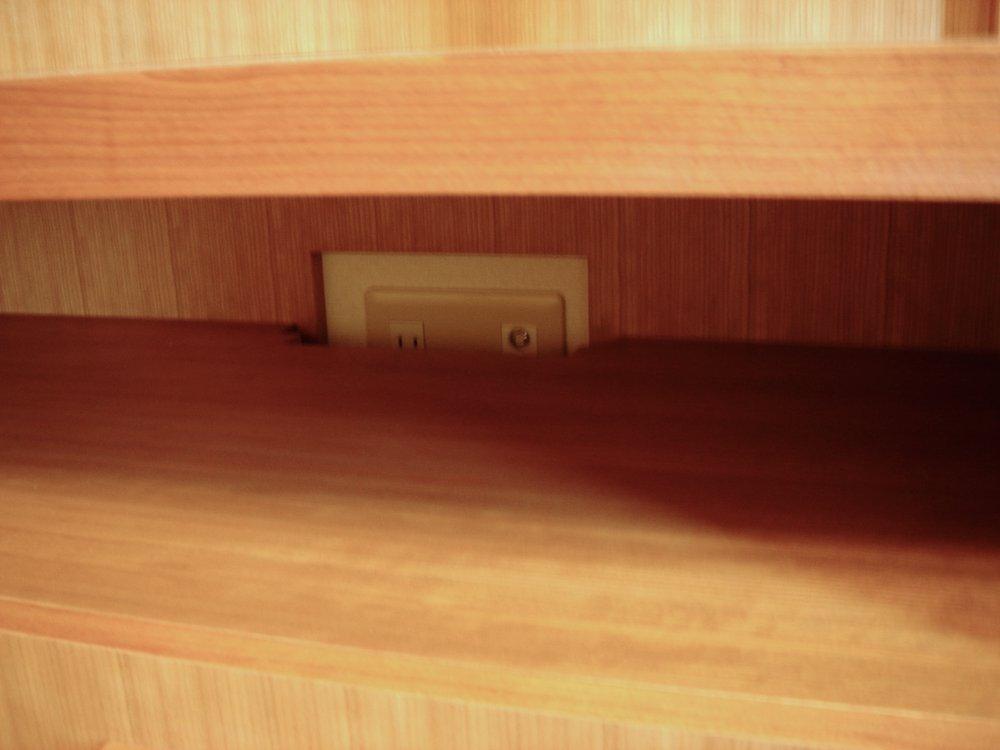 ミッドセンチュリーテイストのテレビボード