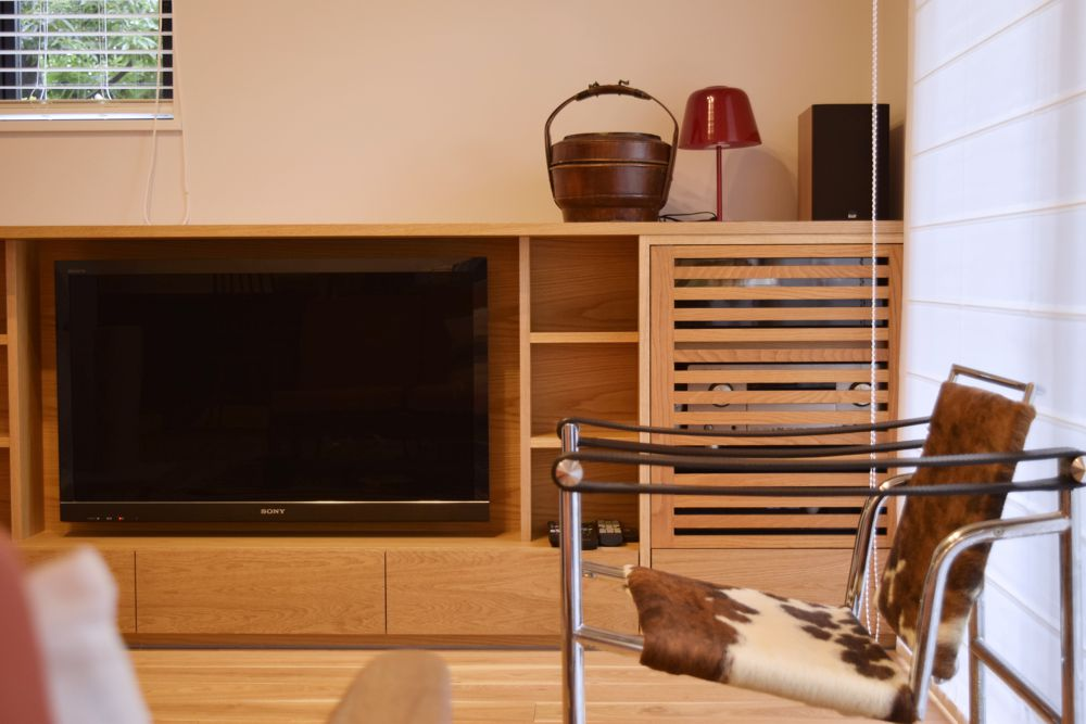 8年前に作った家具を移設して新居にリフォーム