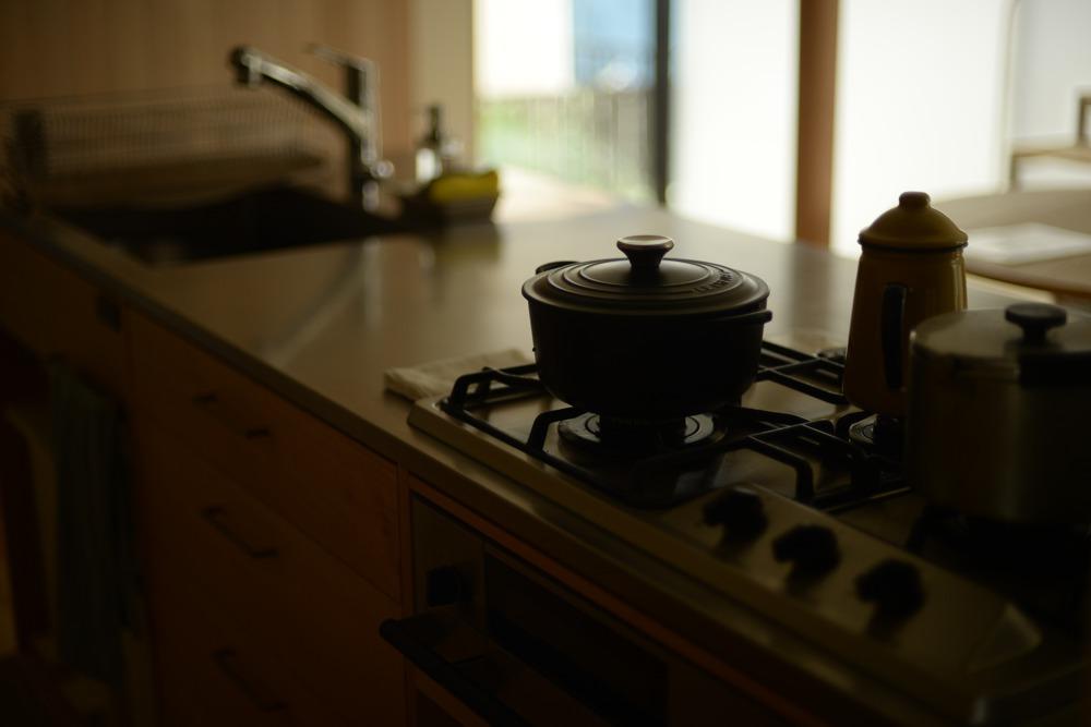 ガスコンロにプラスドゥを使うオーダーキッチンが増えています