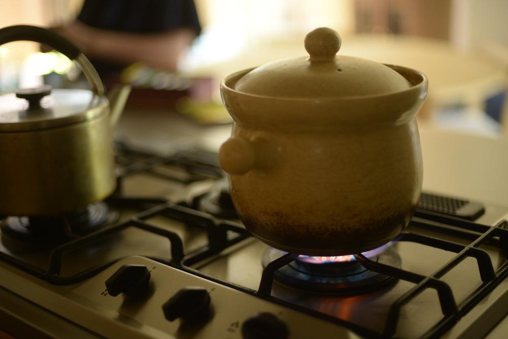 佐久間陶子さんの炊飯土鍋