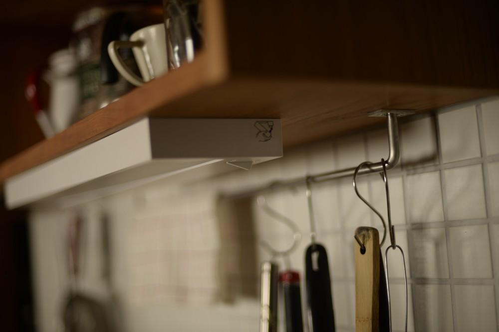 キッチンリノベーションでチェリーのキッチンとカップボードを制作